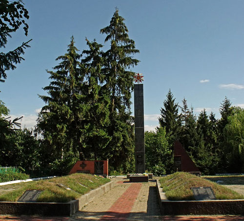 Sovjet Oorlogsbegraafplaats Nemyriv
