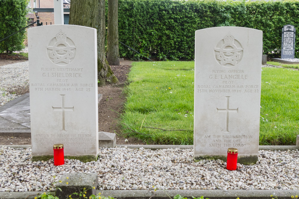 Commonwealth War Graves General Cemetery Putten