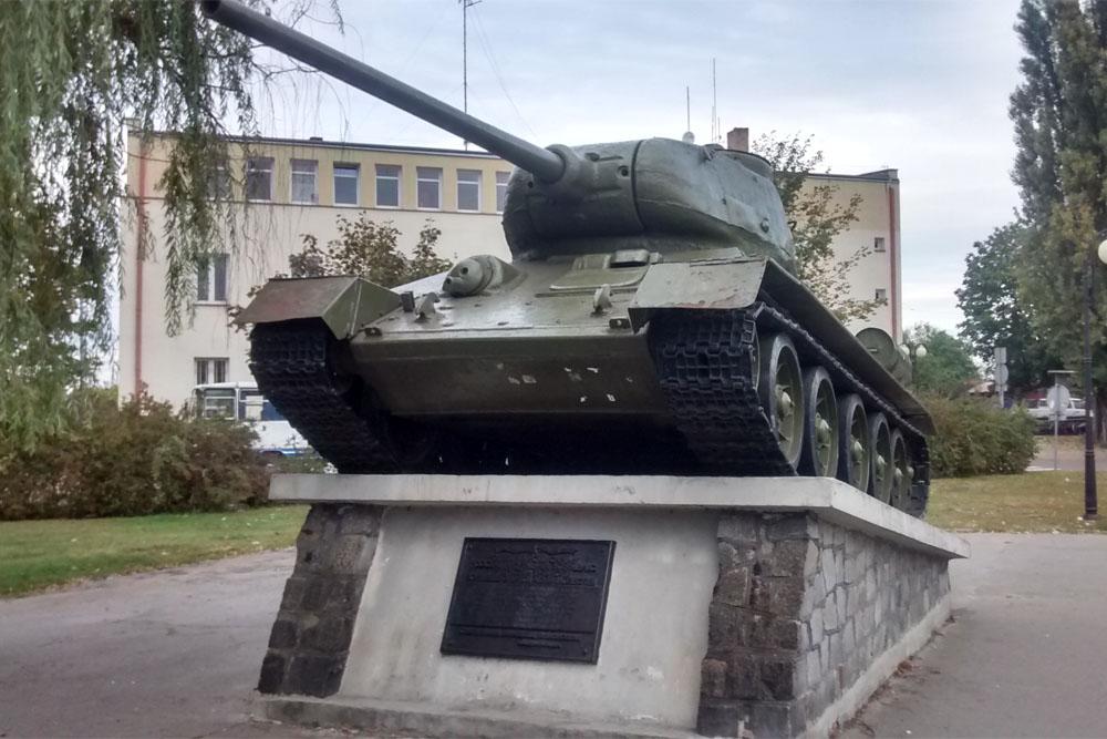 Bevrijdingsmonument Skierniewice (T-34/85 Tank)