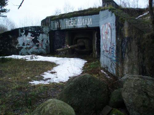 Stalinlinie - Artilleriekazemat Nr. 38