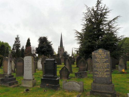 Oorlogsgraven van het Gemenebest Stockport Borough Cemetery
