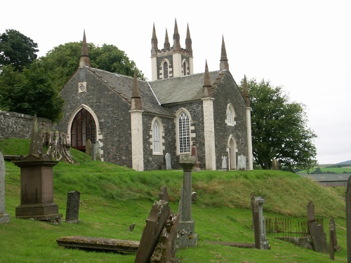 Commonwealth War Graves Dalry Parish Churchyard