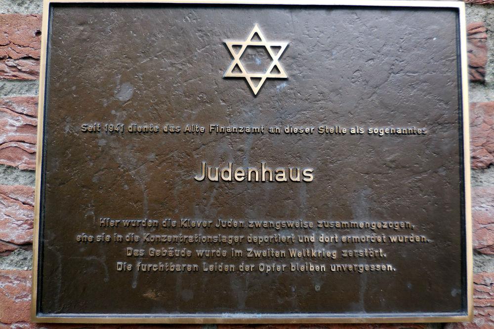 Plaquette Judenhaus