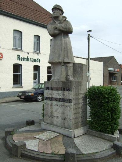War Memorial Sint-Baafs-Vijve