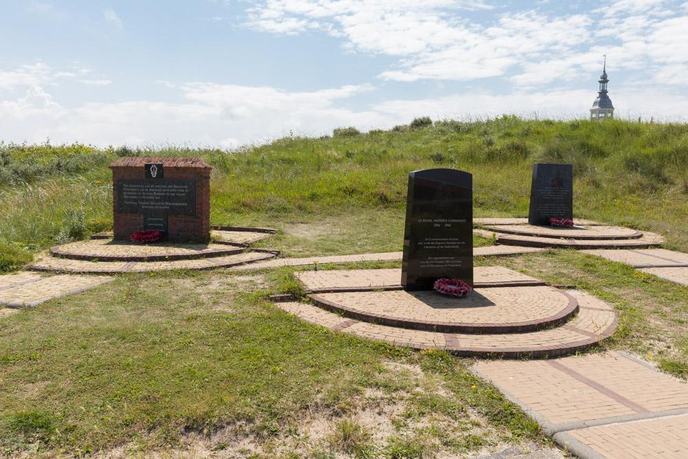 Monument Geallieerde Commando's Domburg