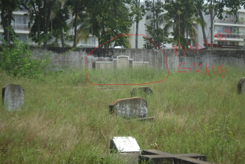 Commonwealth War Graves Pointe Noire European Cemetery