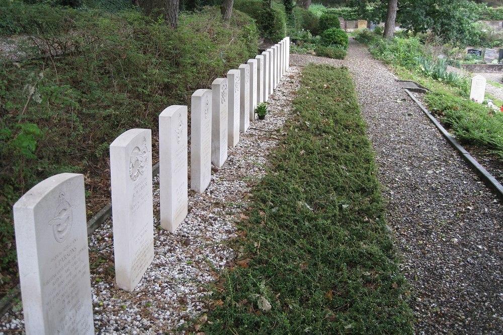 Oorlogsgraven van het Gemenebest Algemene Begraafplaats Noordwijk