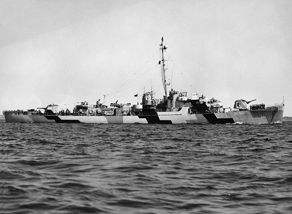 Amerikaanse Escortejagers van de John C. Butler-klasse
