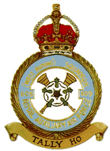Britse No. 609 (West Riding) Squadron, Royal Auxiliary Air Force