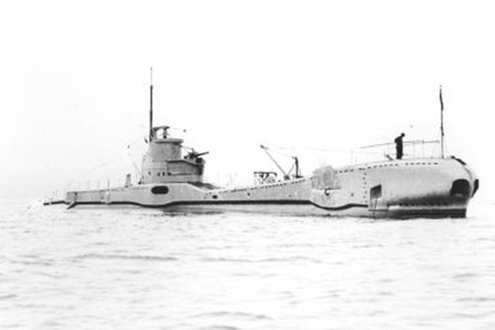 Britse Onderzeeboot HMS Triton (N15)