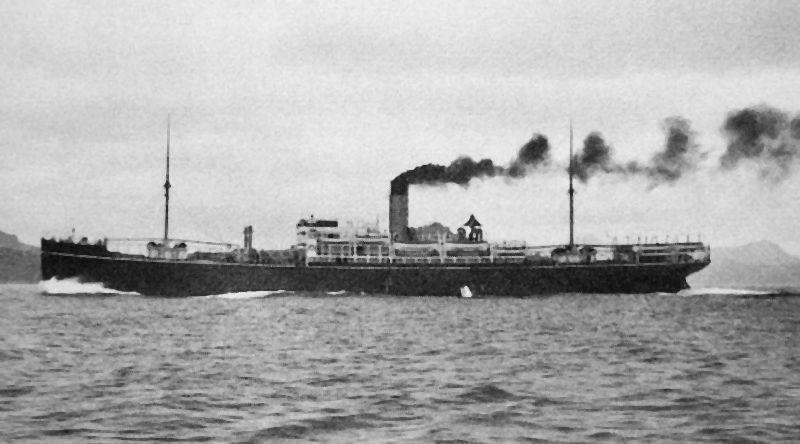 Ondergang van de Rakuyo Maru en de Kachidoki Maru
