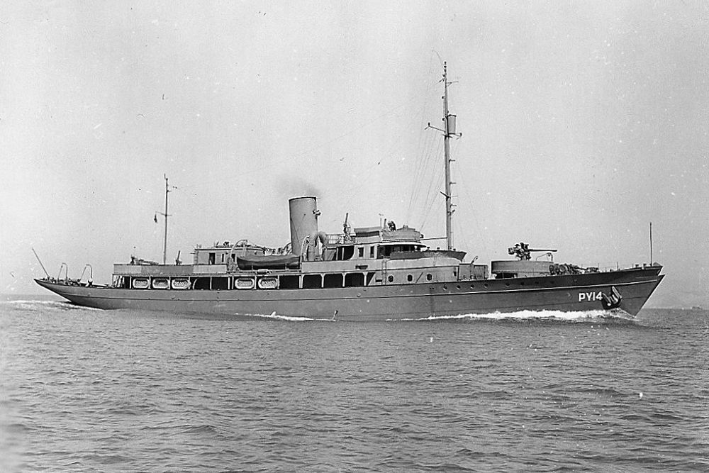 Amerikaanse Patrouilleboten van de Patrol Yacht-groep (PY)