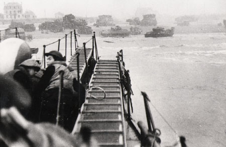 Landings on Sword Beach