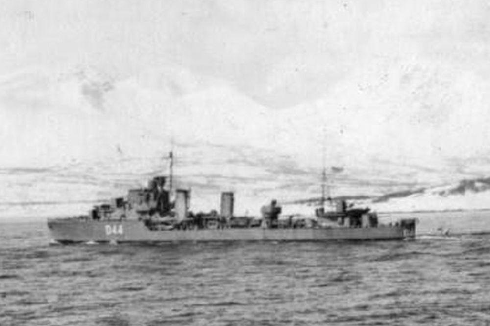 Britse Torpedobootjager HMS Imogen (D44)