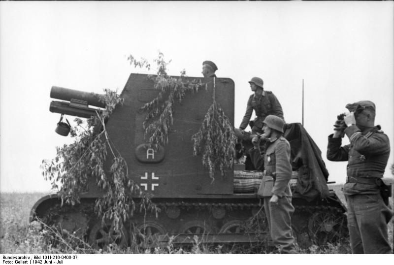 15cm sIG33 (Sf) auf Panzerkampfwagen I Ausf. B