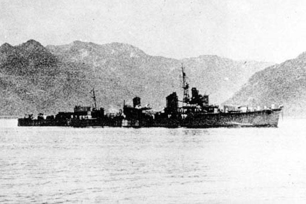 Japanse Torpedobootjagers van de Kagero-klasse