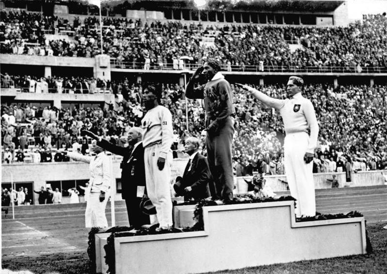 Hitlers afwezigheid bij de huldiging van Jesse Owens