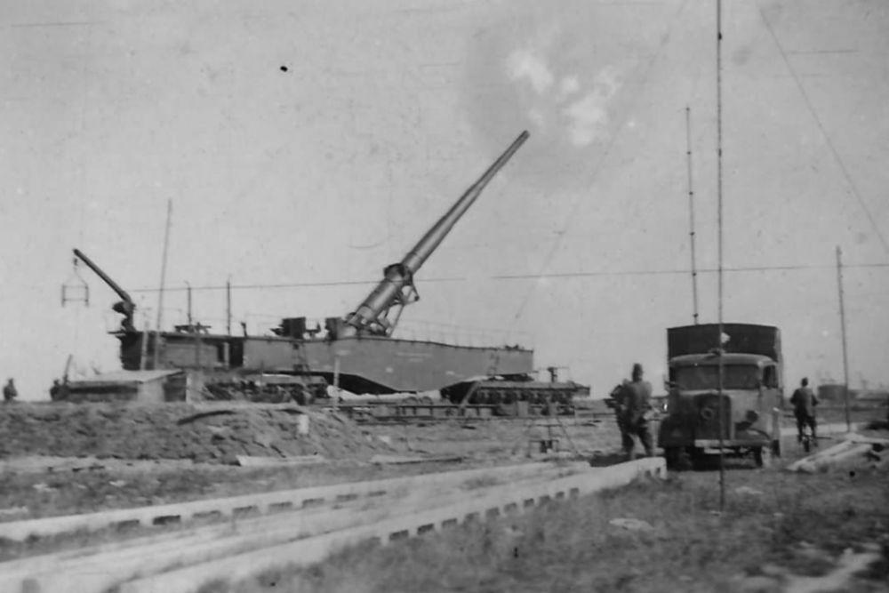 Duitse Spoorweggeschut Wehrmacht