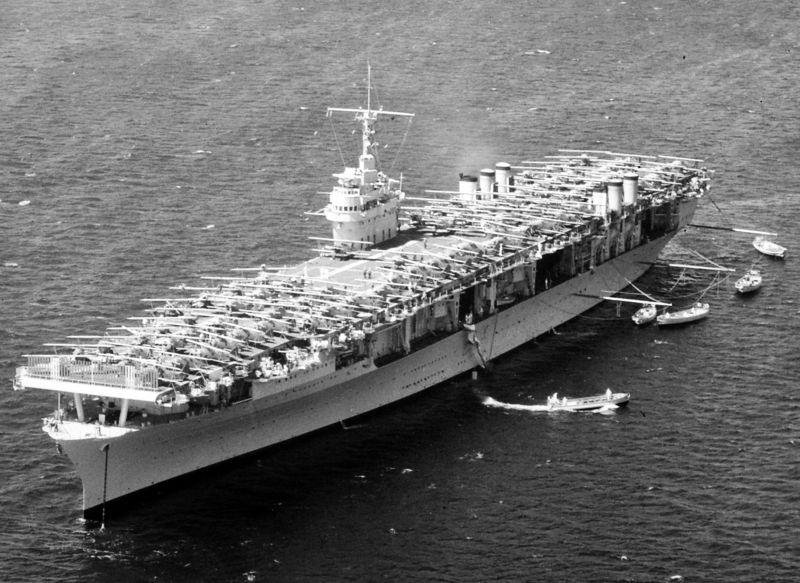 Amerikaanse vliegdekschepen