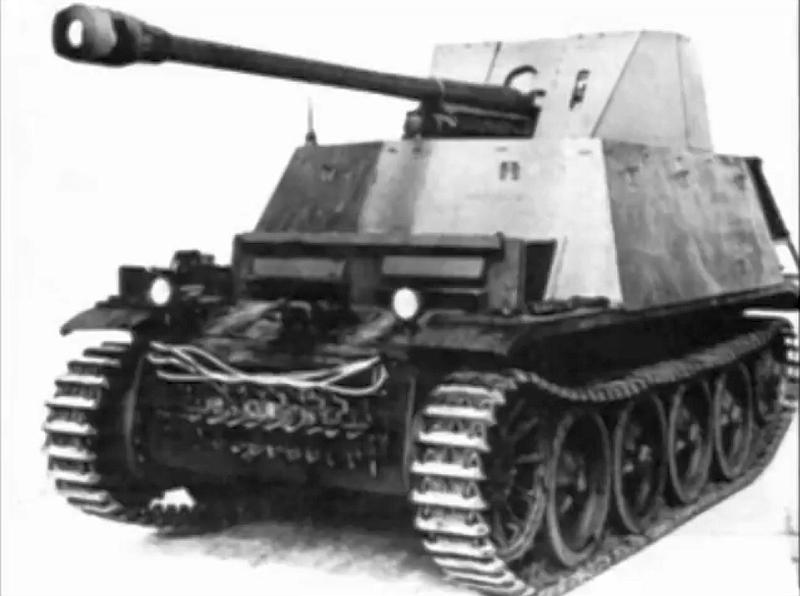 Panzer Selbstfahrlafette 1 für 7,62cm PaK36(r) auf Fahrgestell PzKpfw. II Ausf. D1 und D2