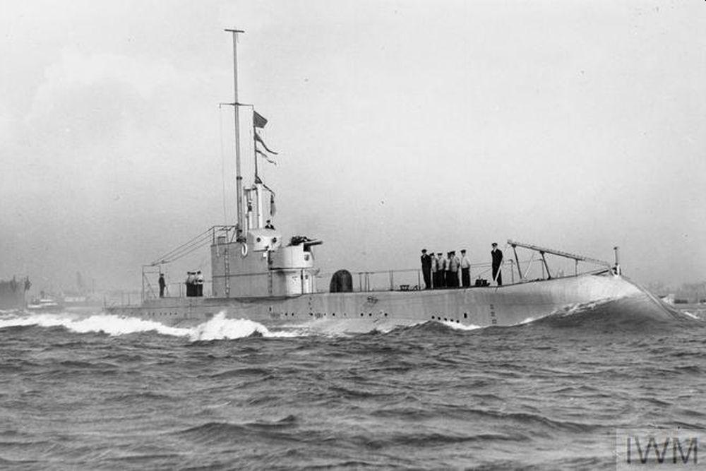 Britse Onderzeeboot HMS Oxley (55P)