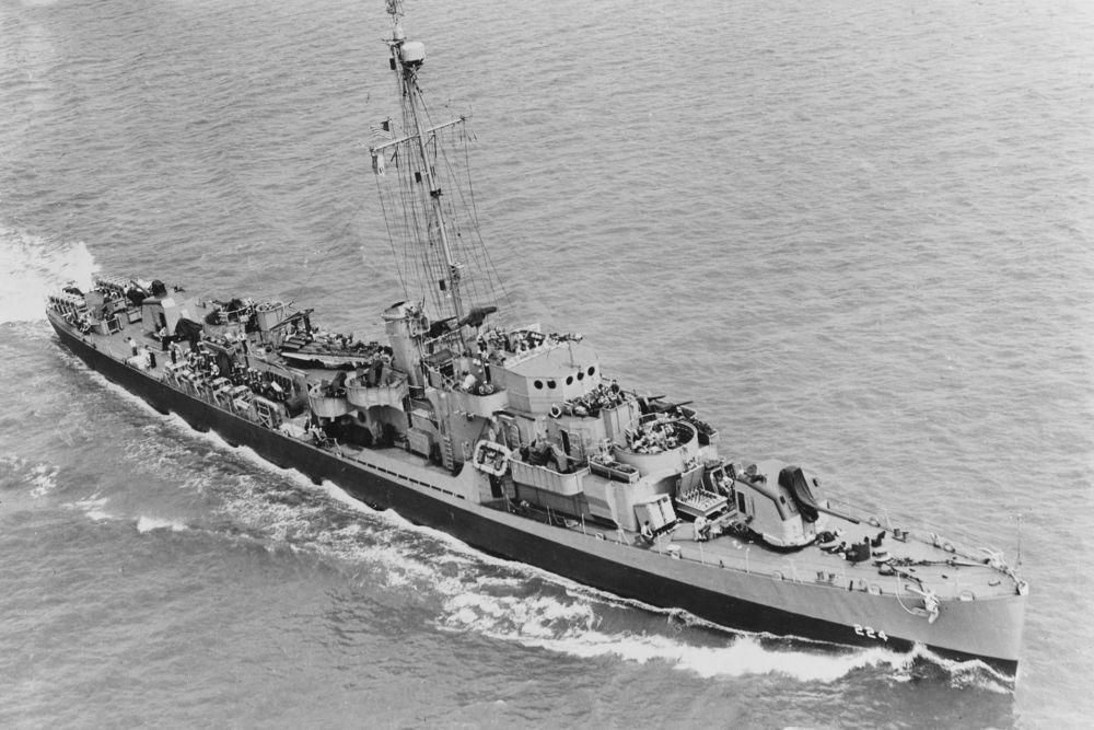 Amerikaanse Escortejagers van het Destroyer Escort (DE) type