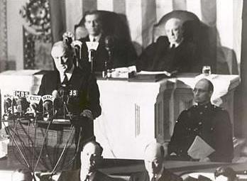 Toespraak Roosevelt na Pearl Harbor (08-12-1941)