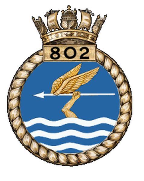 Britse No. 802 Naval Air Squadron, Fleet Air Arm