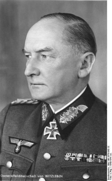Witzleben, Erwin von