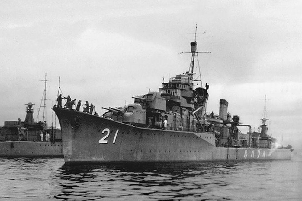 Japanse Torpedobootjagers van de Hatsuharu-klasse