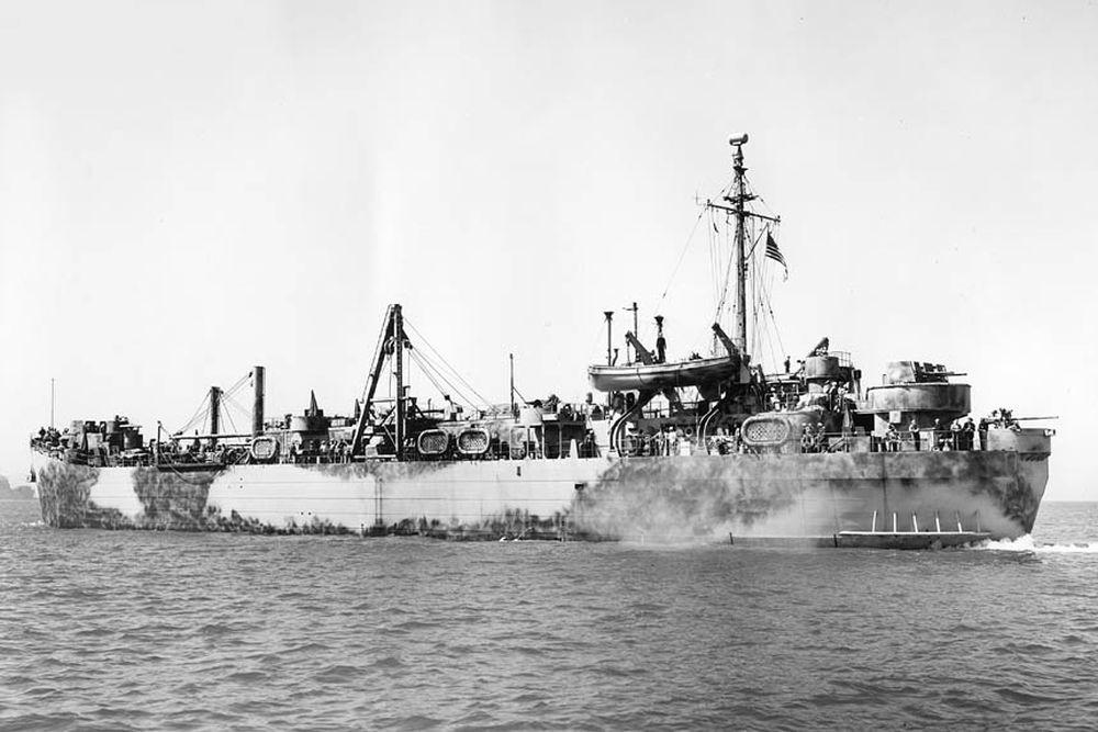 Amerikaanse Landing Craft Repair Ships van de Achelous-klasse