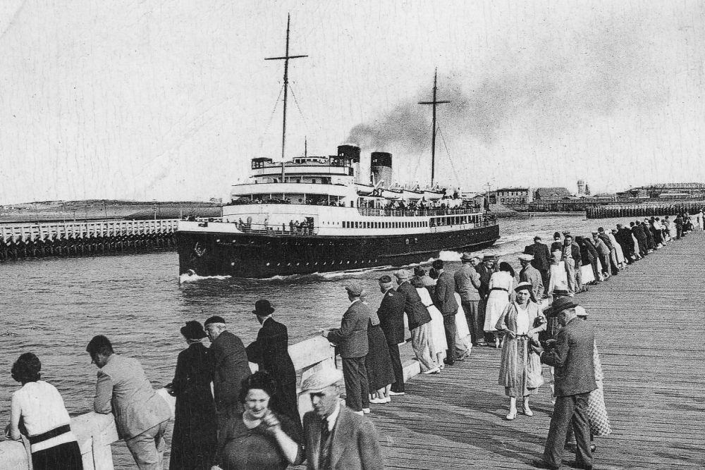 Britse Landing Ship Infantry van de Princess Astrid-klasse