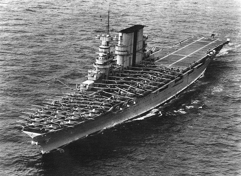 Amerikaanse vliegdekschepen van de Lexington-klasse