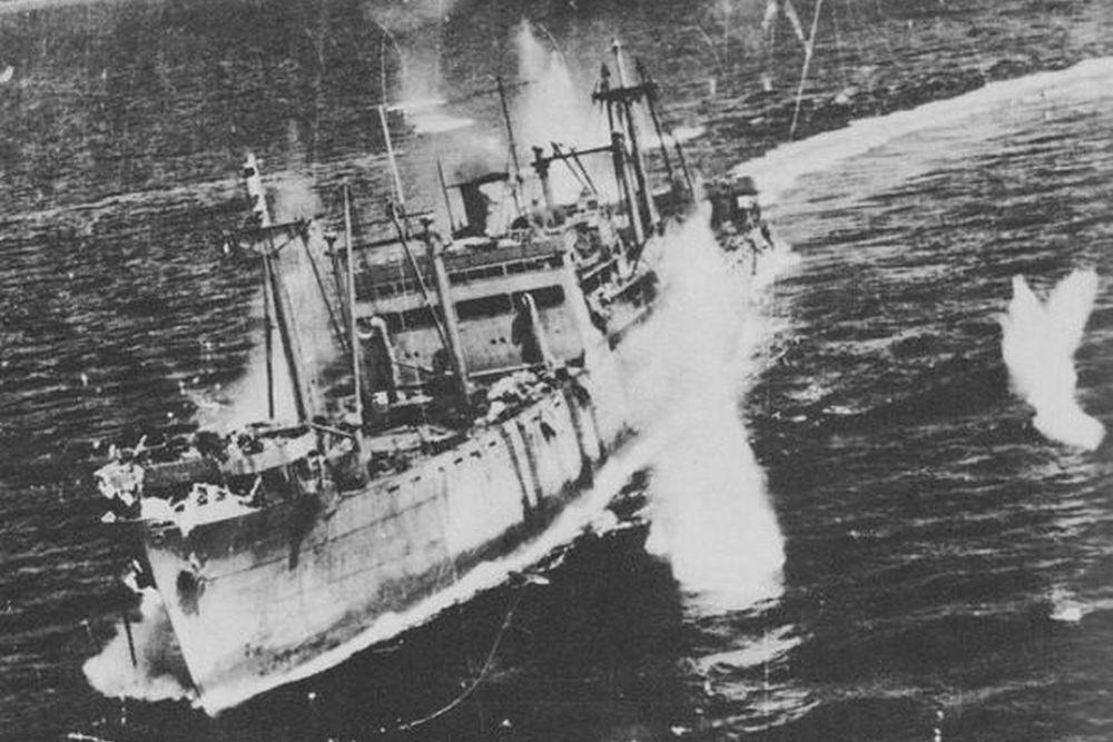 Japanse Troepentransportschip Kashii Maru (1936)