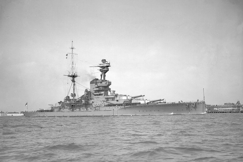 Britse Slagschepen van de Revenge-klasse