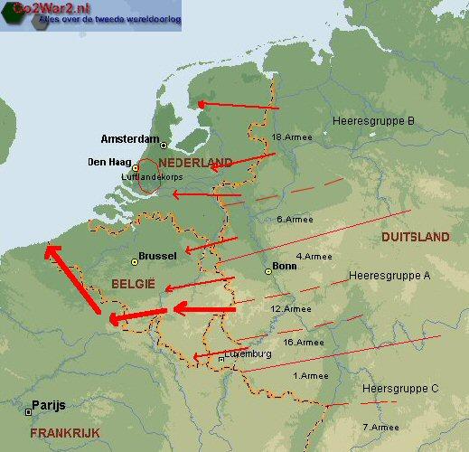 Evacuatie van Breda, 12 mei 1940
