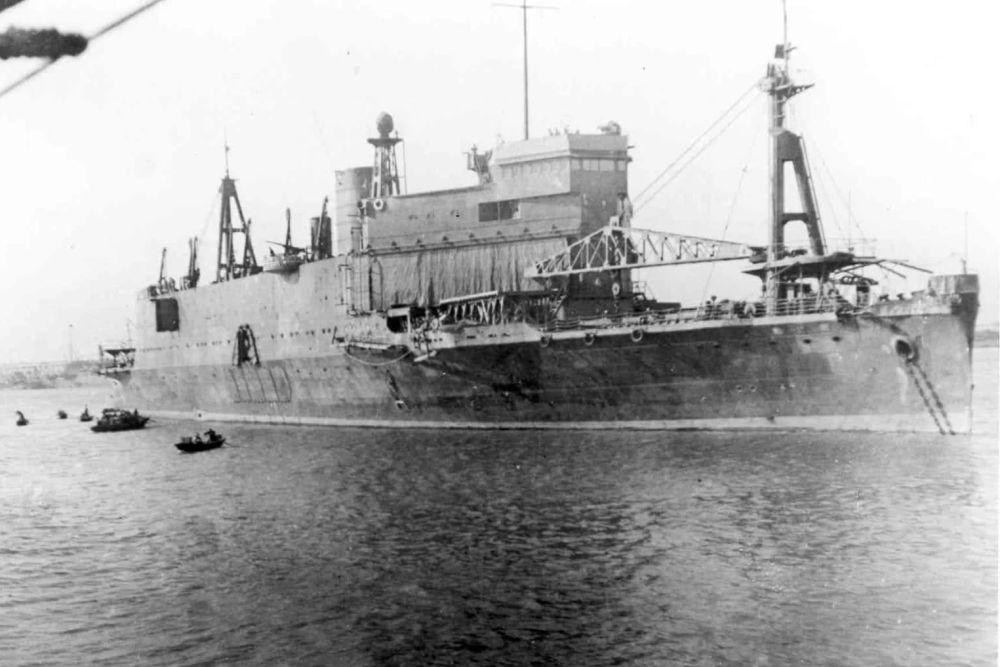 Japanse Landingsschip Shinshu Maru (1934)