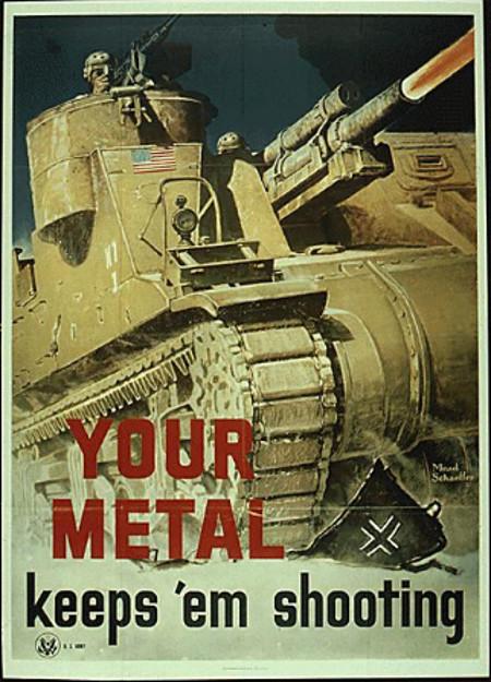 Tankontwikkeling in de Verenigde Staten (1918-1945)