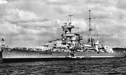 Zware kruisers van de Admiral Hipper-klasse