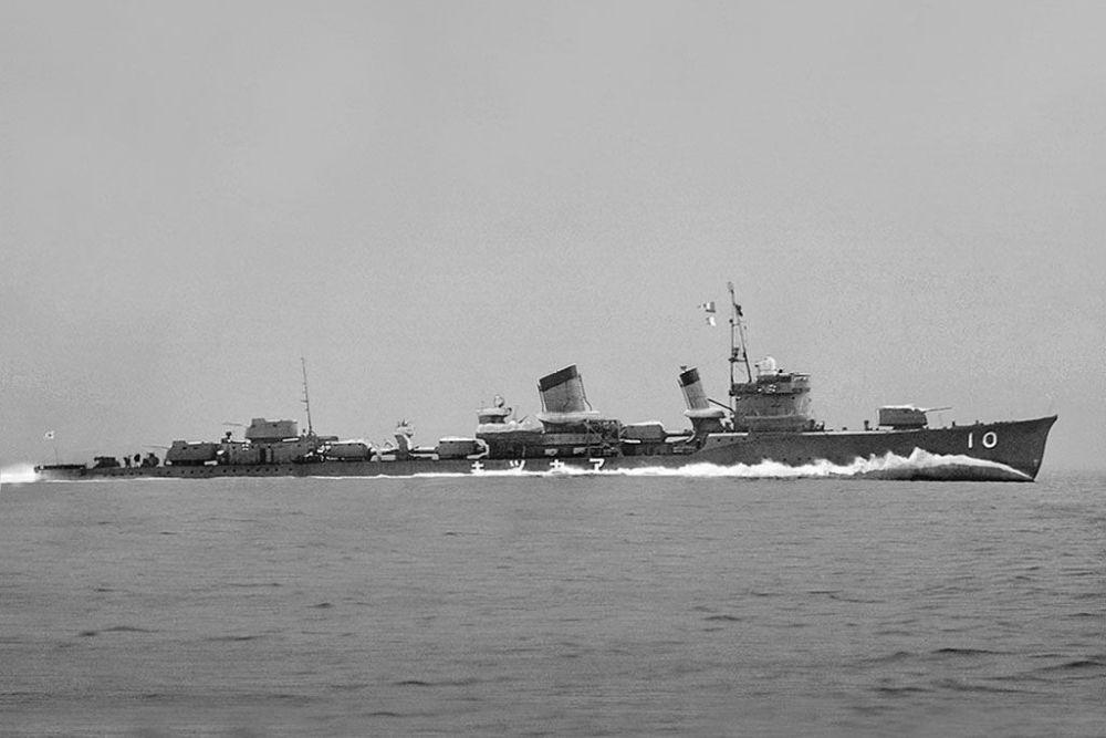 Japanse Torpedobootjager Akatsuki (Dai-55)