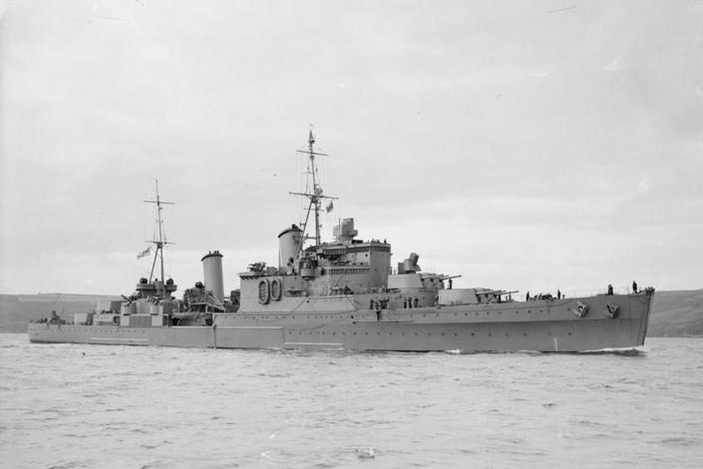 Britse Lichte-kruisers van de Southampton-klasse