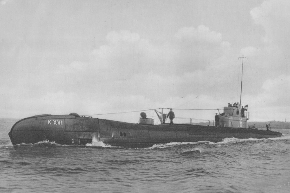 Nederlandse Onderzeeboot Hr. Ms. K XVI