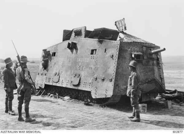 Tanks door de jaren heen (1900-2021)