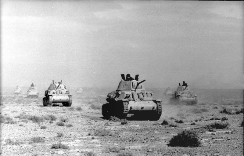 Tankmunitie in Italië (1930-1945)