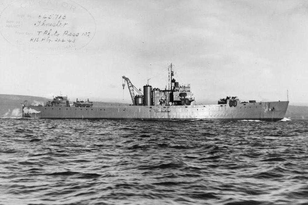 Britse Landing Ship Tank van de Boxer-klasse