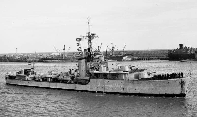 Britse destroyers voor de Nederlandse marine