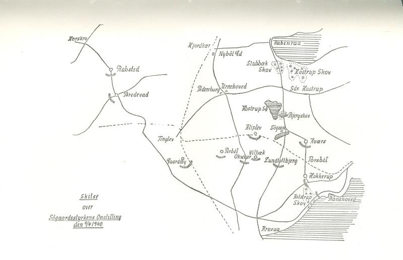 Gevecht bij Hokkerup, 9 april 1940