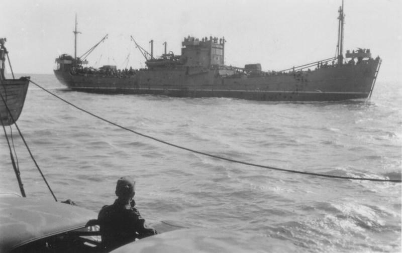 Duitse Maritieme aanvals- en transportgroepen voor Weserübung
