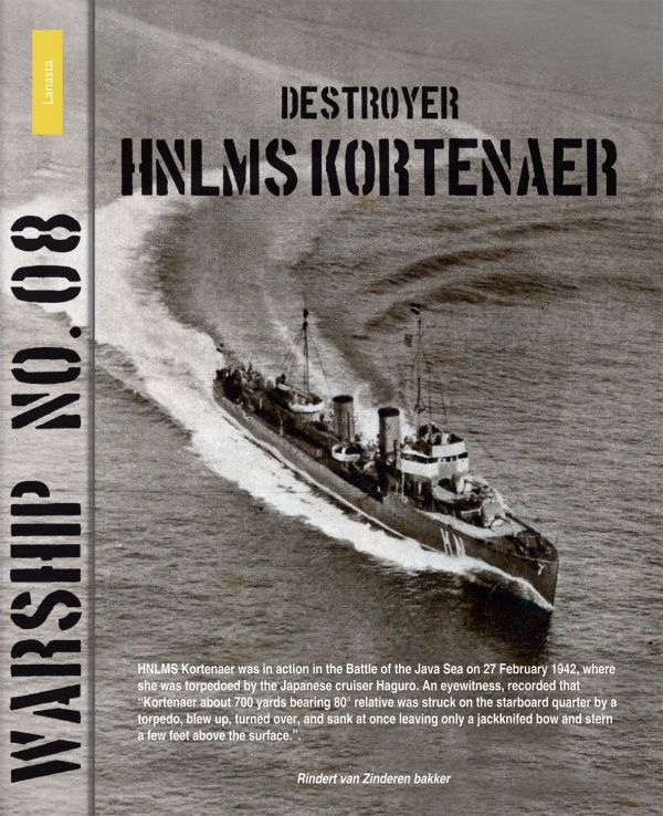 Warship No. 08: Destroyer HNLMS Kortenaer