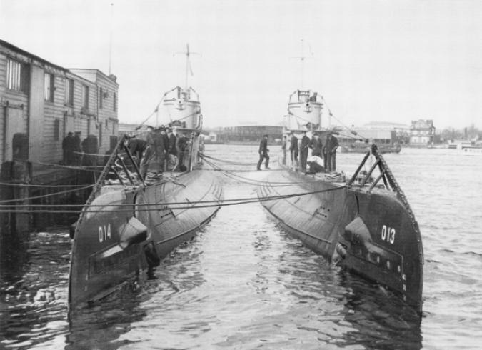 Onderzeeboten van de O 12-klasse